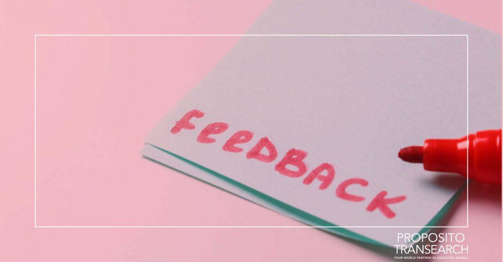 feedback de qualidade